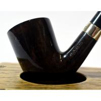 Peterson Churchwarden D16 Grey Nickel Mounted Fishtail Pipe (PEC114)