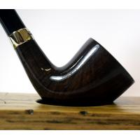 Peterson Churchwarden D6 Grey Nickel Mounted Fishtail Pipe (PEC121)