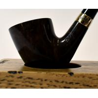 Peterson Churchwarden D15 Grey Nickel Mounted Fishtail Pipe (PEC167)