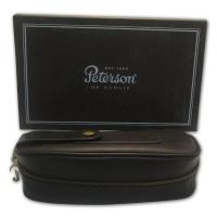 Peterson 2 Pipe Combination Tobacco Pouch 148