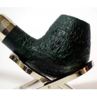 Rattrays Pipe of the Year 2019 Sandblast Green 9mm Fishtail Pipe (RA445)