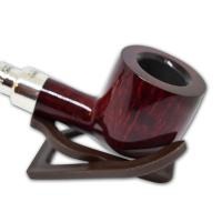 Peterson Red Silver Mounted 606 Spigot Pipe