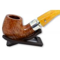 Peterson Rosslare Royal Irish Natural 221 Silver Mounted Fishtail Pipe (PE464)