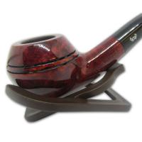 Viking Classic Ruby Rhodesian Smooth Bent Pipe