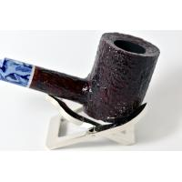 Savinelli Oceano Dark Rustic Poker Semi Bent 311 6mm Pipe (SAV47)