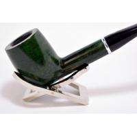 Savinelli Arcobaleno Smooth Green Straight 111 6mm Pipe (SAV201)