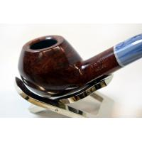 Savinelli Oceano Burgundy Smooth Rhodesian Bent 673 6mm Pipe (SAV255)