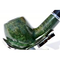 Savinelli Arcobaleno Green 626 Smooth  9mm Fishtail Pipe (SAV306)