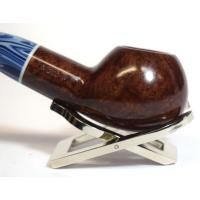 Savinelli Oceano Burgundy 320 Smooth Apple Bent 9mm Pipe (SAV396)