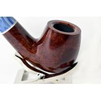 Savinelli Oceano Burgundy Smooth Bent Billiard 616 6mm Pipe (SAV45)