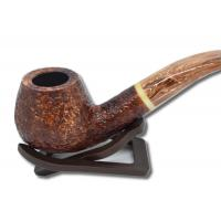 Savinelli Dolomiti 645 Rustic Light Brown 9mm Pipe (SAV07)