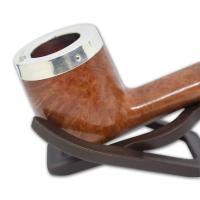 Peterson Silver Cap Silver Mounted Natural 264 Pipe (SC002)