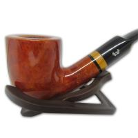 Viking Skagen Virgin Smooth Billiard Bent Pipe