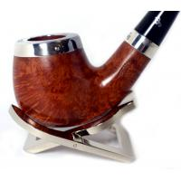 Peterson Silver Cap Silver Mounted Natural 68 Pipe (PE588)