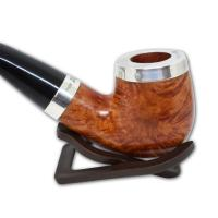 Peterson Silver Cap Silver Mounted Natural XL90 Pipe (SS1039C)