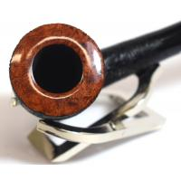 Stanwell Brushed Black 140 Rustic Bent Fishtail Pipe (ST003)