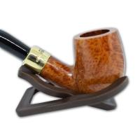 Peterson Natural Straight Grain Gold Mount 65 Pipe