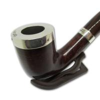 Peterson Silver Cap Silver Mounted Pipe - XL20 (Fishtail)