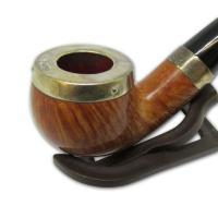 Peterson Silver Cap Silver Mounted Natural X220 Pipe (SS1038)