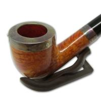 Peterson Silver Cap Silver Mounted Natural 69 Pipe (SS1036)