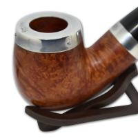 Peterson Silver Cap Silver Mounted Natural XL90 Pipe (SS1039)