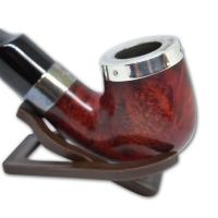 Peterson Red Silver Cap Fishtail X220 Pipe (PE610)