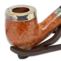 Peterson Silver Cap Silver Mounted Natural 69 Pipe (SS1037)