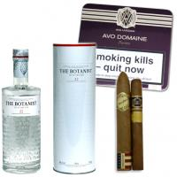 Summer BBQ Pairing Sampler – Botanist Islay Dry Gin and Cigars