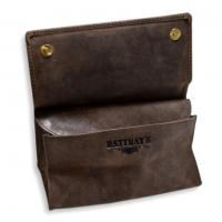 Rattrays Peat Large Leather Box Pipe Pouch (PP024)