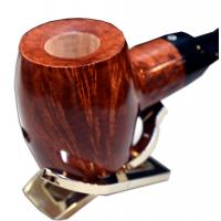 Talamona Reverse Calabash Smooth Pipe (ART027)