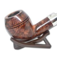Peterson Walnut Spigot XL14 Sterling Silver Pipe (WA004)