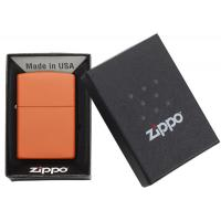 Zippo - Classic Orange Matte - Windproof Lighter