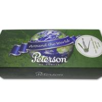 Peterson Around the World Nickel Mounted Pipe - 221 (with 9mm filter) (G1082)