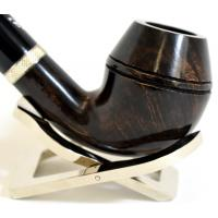 Aldo Velani Eximia 2 Smooth Dark Brown 9mm Filter Fishtail Pipe (AV33)