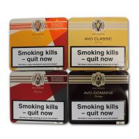Exclusive - AVO Puritos Selection Sampler - 4 Tins of 10 Cigars