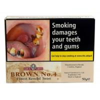 Samuel Gawith Brown No. 4 Finest Kendal Twist Pipe Tobacco 50g (Tin)
