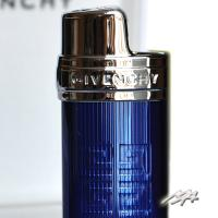 Givenchy Mini Bic Case Chrome Clear Blue