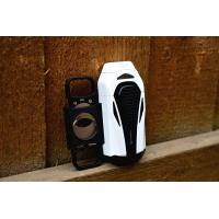 Colibri Boss Triple Flame Lighter - White & Matte Black
