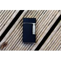 Colibri Julius Classic Double-flame Cigar Lighter - Black & Chrome