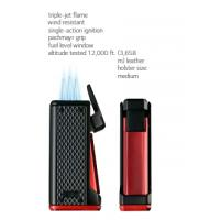 Colibri Monza Triple Jet Lighter - Blue