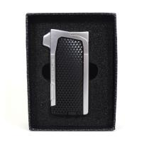 Lotus Condor Pipe Lighter With Tools - Black & Chrome