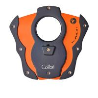 Colibri Coloured Blades Cigar Cutter - Orange