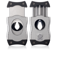 Colibri SV Cut Cigar Cutter - Chrome & Black