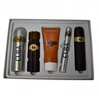 Cuba Must Have Mens Cigar Style Aftershave Gold Eau De Toilette Gift Set - CHRISTMAS GIFT