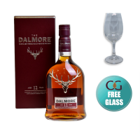 Dalmore 12 Year Old Single Malt Scotch Whisky - 70cl 40%