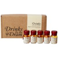 Drinks by the Dram Regions of Scotland Whisky Tasting Set - 5 x 3cl