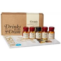 Drinks by the Dram Lowland Whisky Tasting Set - 3x5cl 49.5%