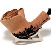 Erik Nording Freehand Rustic Bent Fishtail Pipe (EN037)