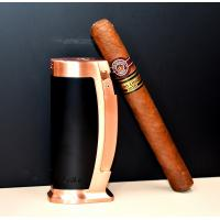Colibri Enterprise Table Lighter - Black & Rose Gold (Discontinued)