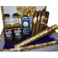 """Sorry You're Leaving"" Cigars and Whisky Gift Box Sampler"